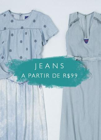 Jeans a partir de R$99,00
