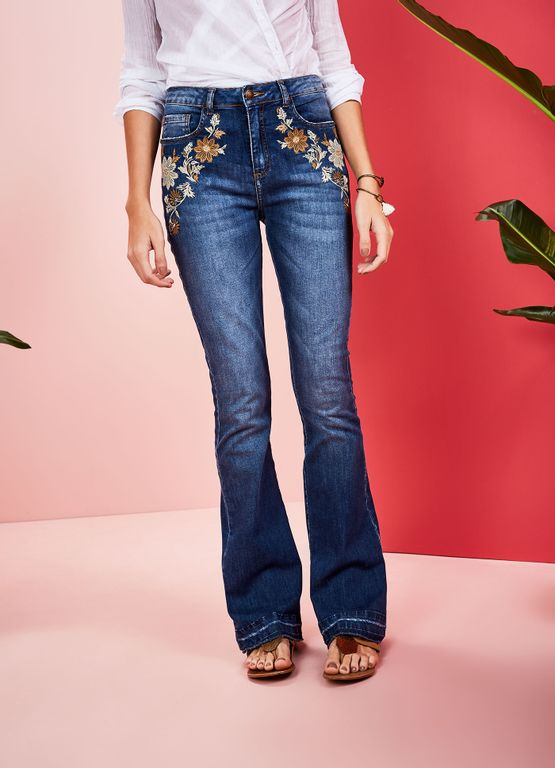 519115_3172_2_M_CALCA-JEANS-A-FLARE-SWEET-SEVENTIES