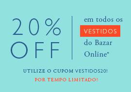 Bazar 20% Off Vestidos