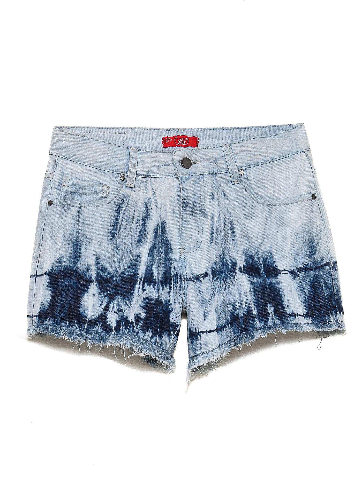 Short jeans tie dye barra jeans compre online na canto short jeans tie dye barra jeans ccuart Choice Image