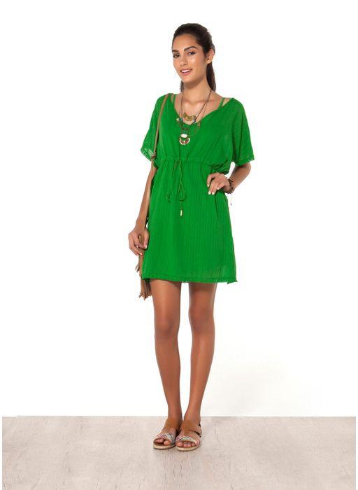 Resultado de imagem para vestido de malha verdeo
