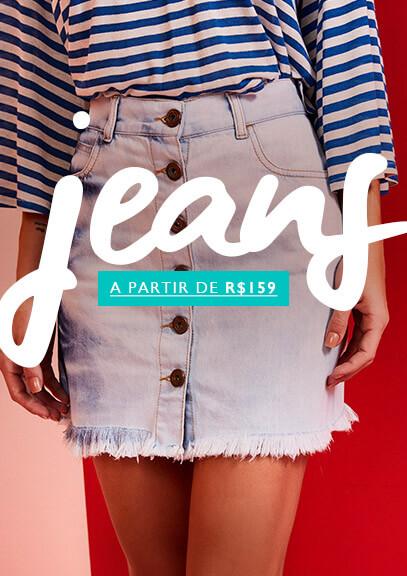 jeans a partir de R$159,00