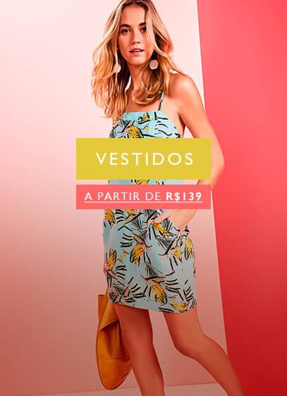 vestidos a partir de R$139,00