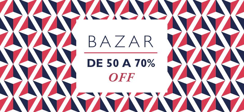 Melhor do Bazar, fique por descontos dos melhores descontos da marca.