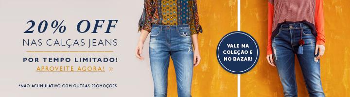 Promo calça jeans