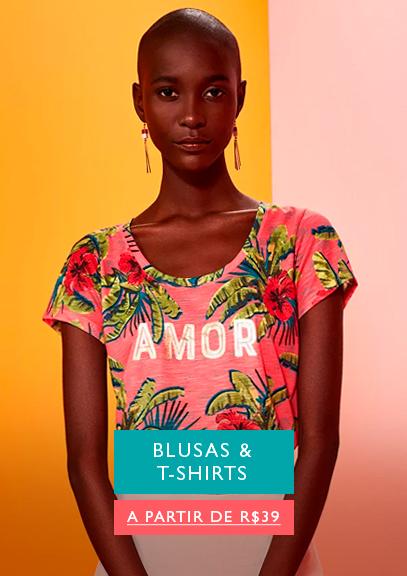blusas, t-shirts, florido, estampa, cropped, manga
