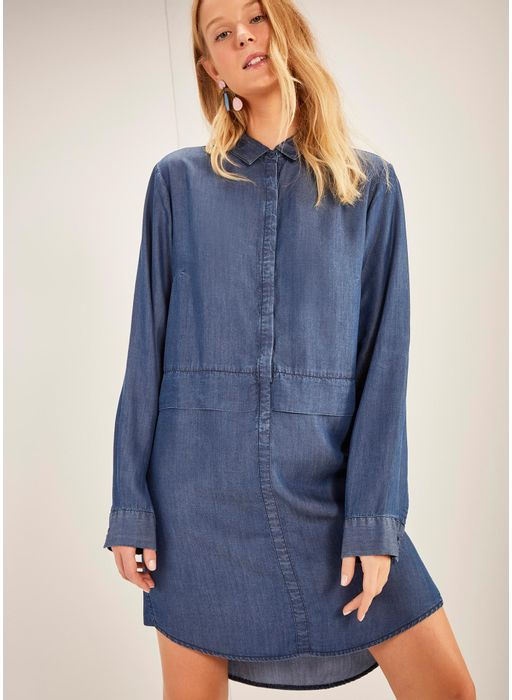 3dbc182ee Cantao · Vestidos · undefined. 522251_3172_1_M_VESTIDO-JEANS-CHEMISE-BLUE  ...