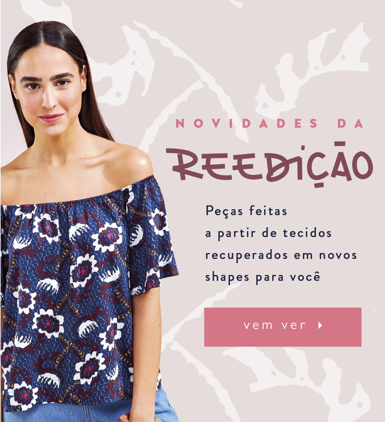 5aeea7c40 Cantão – 20% off em blusas e t-shirts da coleção Afeto
