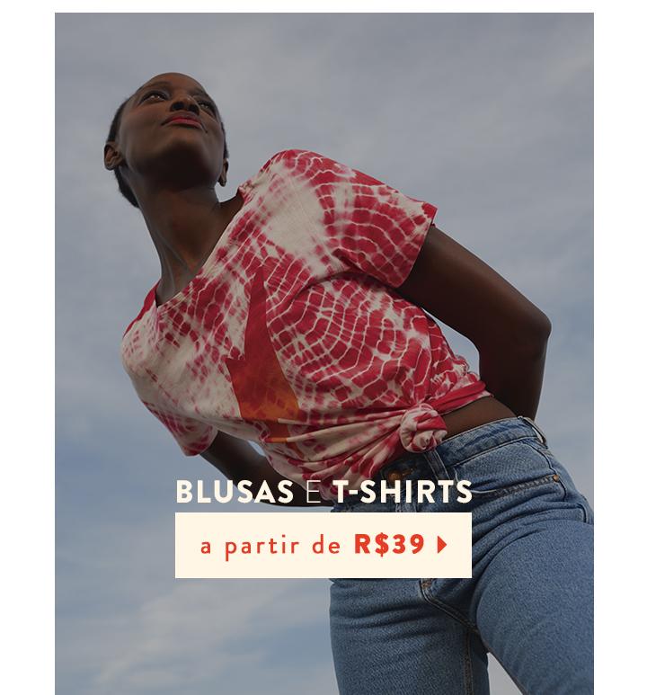 Blusas e T-shirts - Mobile