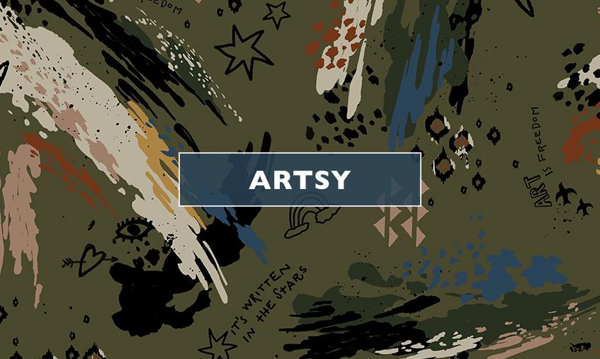banner-slide duplo - estampas - Artisy